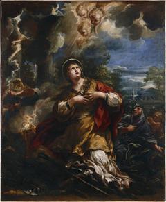 Saint Martina Refuses to Adore the Idols