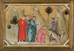 Saint Proculus Induces the Doe to give Milk to his Thirsty Companions