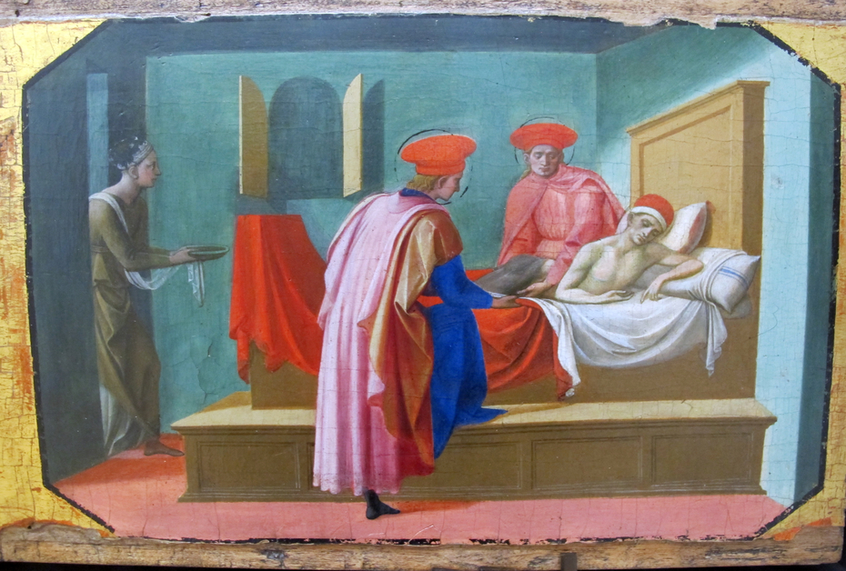 Saints Cosmas and Damian Healing the Sick