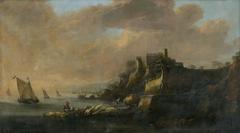 Seascape with a Castle