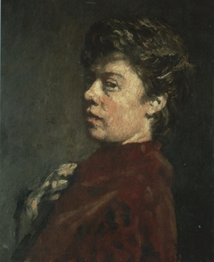 Self-portrait of Suze Robertson (1855-1922)