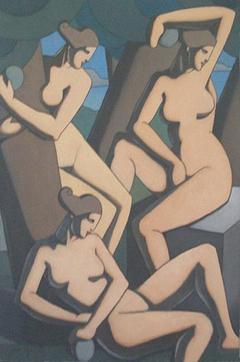 Serie Desnudo femenino. Desnudo femenino I