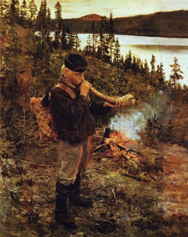 Shepherd Boy from Paanajärvi