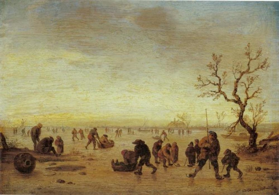 Skaters on the Ice, ca. 1642 – 1645