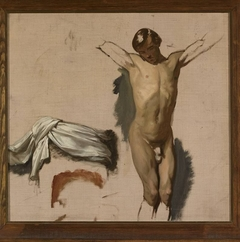 """Sketch for """"Crucifixion"""""""