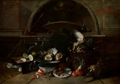 Still Life with Bottles and Oysters