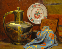Still Life with Pitcher and Plate