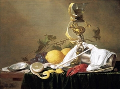 Still Life with Silver-gilt Goblet-holder