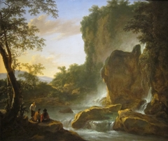 talianate Landscape with an Artist Sketching from Nature