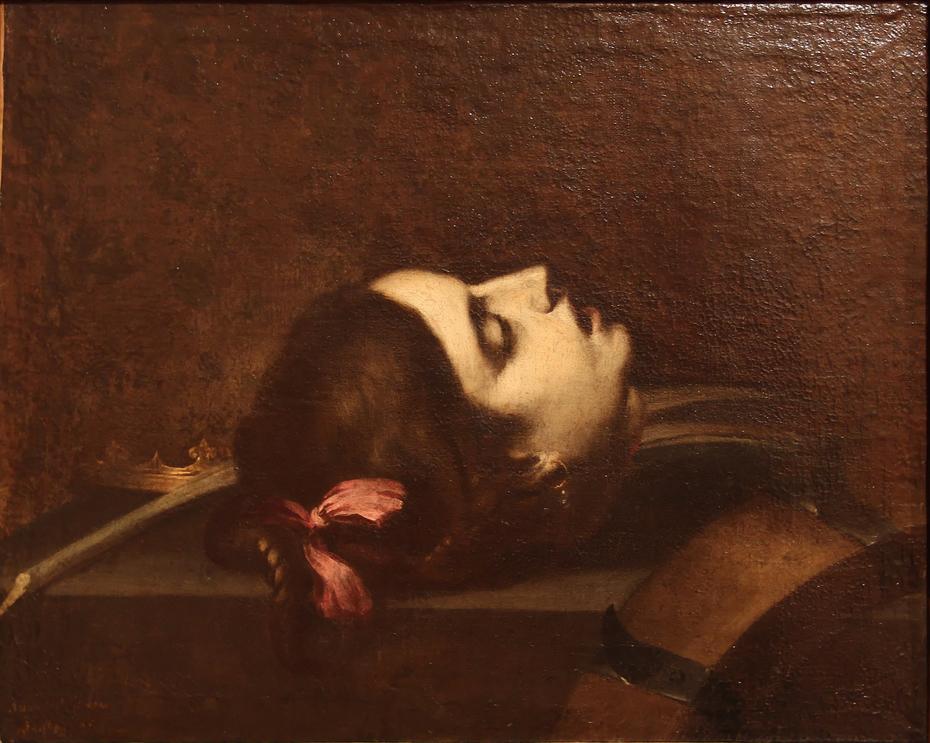 Tête de sainte Catherine d'Alexandrie