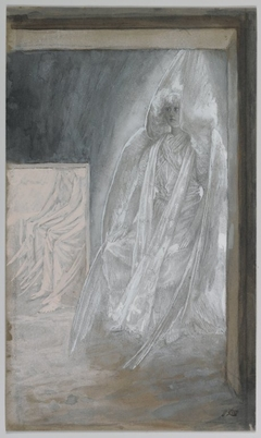 The Angel Seated on the Stone of the Tomb