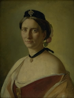 The Artist's Wife, Alma Bloch, née Trepka