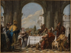 The Banquet of Cleopatra (Tiepolo - Musee Coqnacq version)