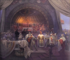 The Bohemian King Přemysl Otakar II