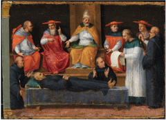 The Canonization of Saint Nicholas of Tolentino