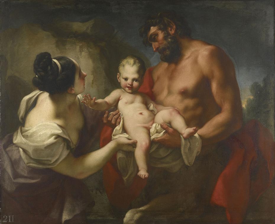 The Centaur Chiron Receiving the Infant Achilles