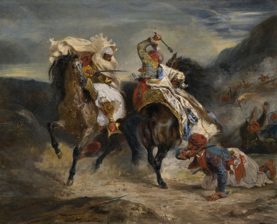 The Combat of the Giaour and Hassan