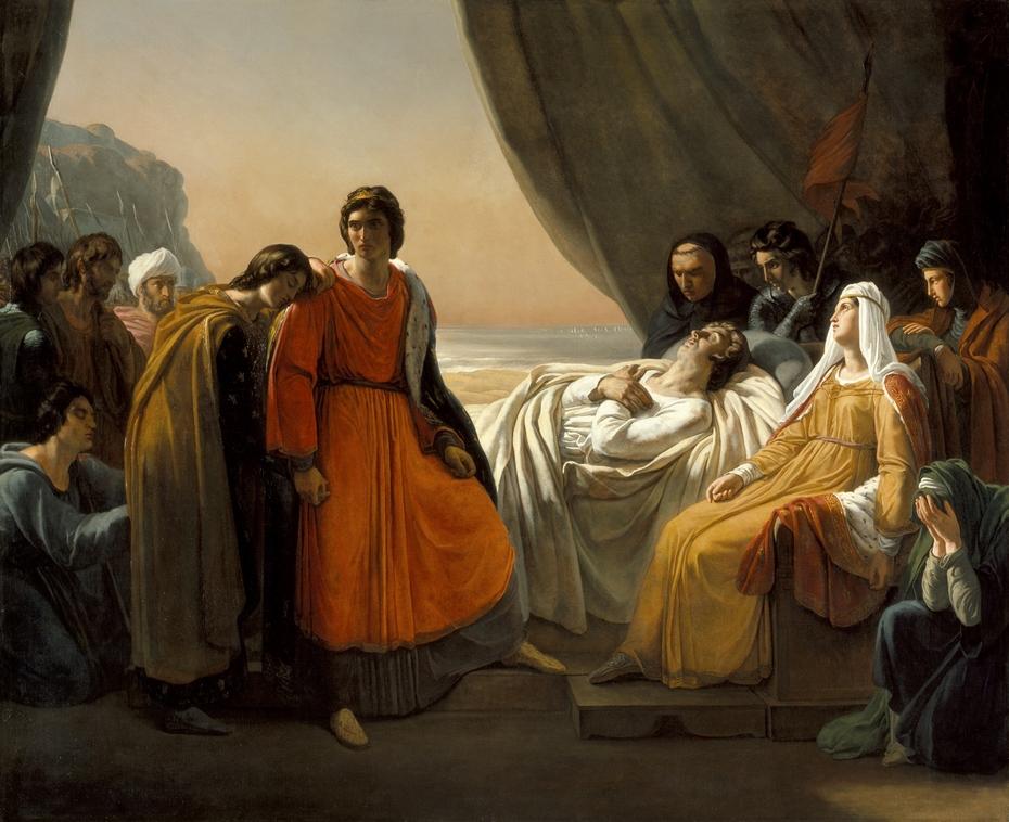 The Death of Saint Louis