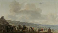 The Departure of Charles II (1630-1685) from Scheveningen, 2 June 1660