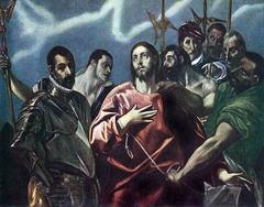 The Disrobing of Christ. Budapest half painting version