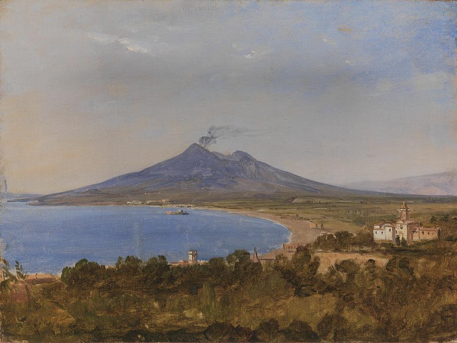 The Gulf of Naples with Vesuvius