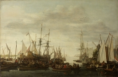 The Keelhauling of the Ship's Surgeon of Admiral Jan van Nes
