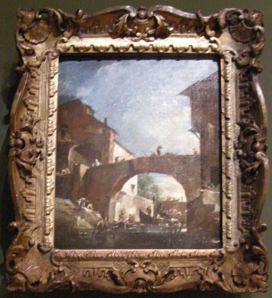 The lock at Dolo on the Brenta: Capriccio
