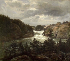 The Lower Falls at Trollhättan