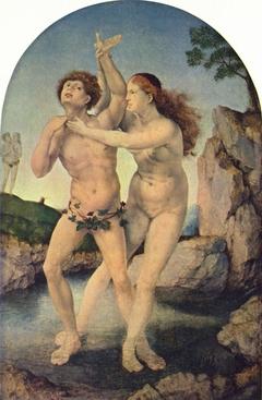 The Metamorphosis of Hermaphrodite and Salmacis