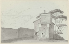 The Monastery at Vicovaro, and the Porter's Lodge of the Villa Borghese
