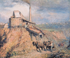 The old stone crusher (The quarry)