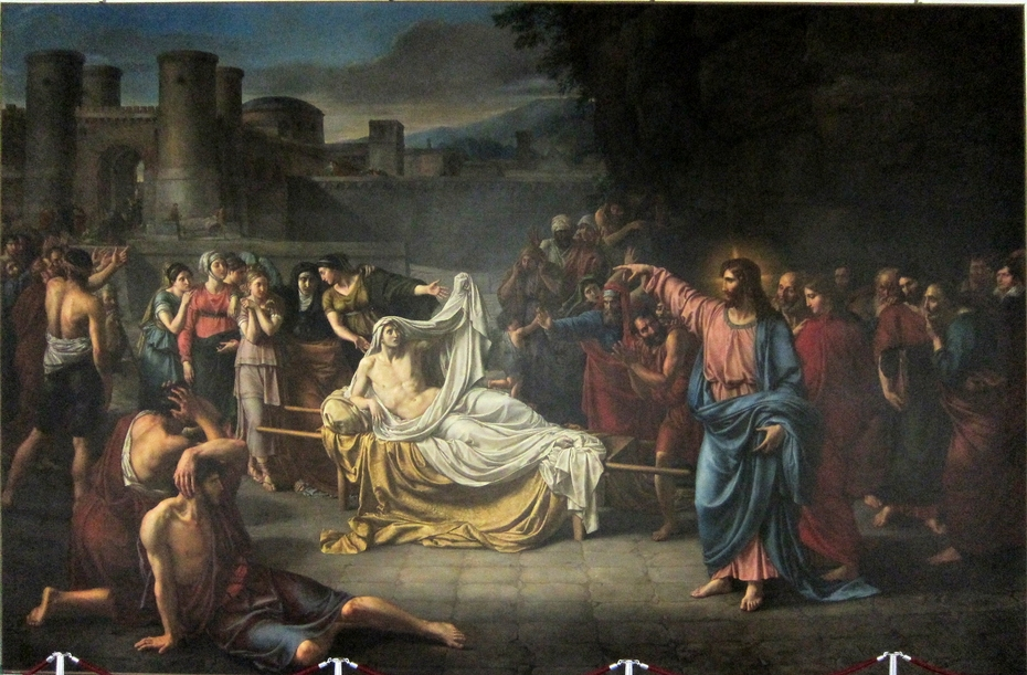 The resurrection of the son of the widow of Naim