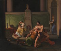 The Return of Ulysses. Scene from Homer´s Ulysses