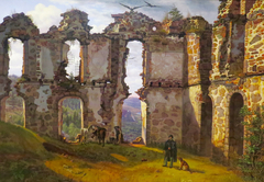 The Ruins of Brahehus near Jönköping, Sweden