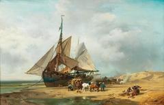 Unloading the Sailing Ship