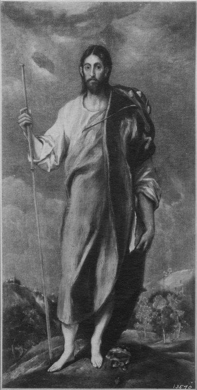 St James as a pilgrim