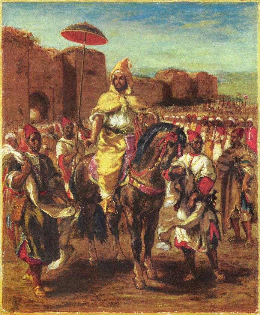 Portrait of the Sultan of Morocco