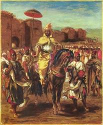 Portrait of the Sultan of Morocco