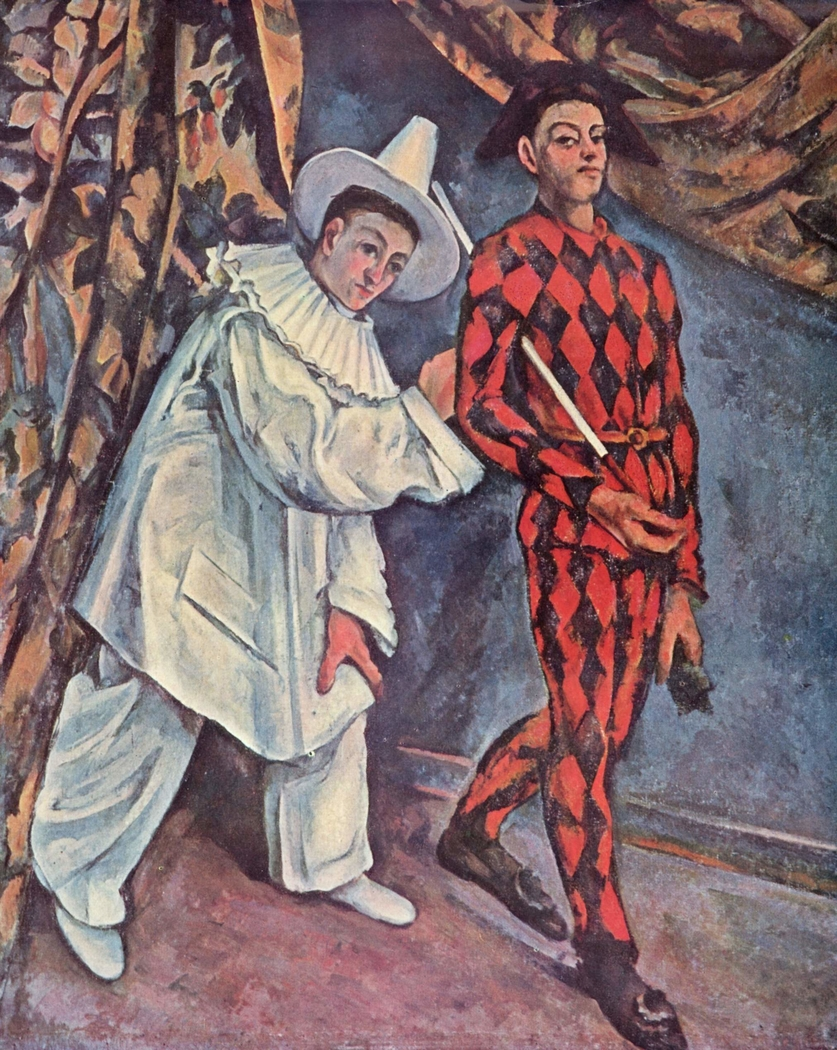 Shrove tuesday (Pierot and Harlequin)