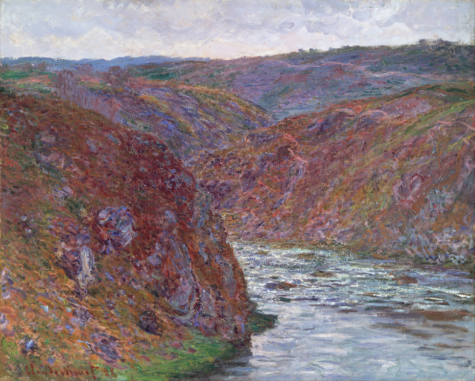 Valley of the Creuse (Gray Day)