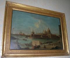 Venice: The Molo towards the Dogana and Santa Maria della Salute
