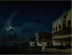 Venice, View of the Molo looking West towards La Salute