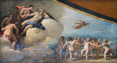 Venus Surrounded by Nymphs Observing a Dance of Cupids