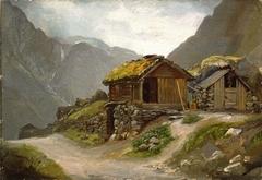 View from Gudvangen