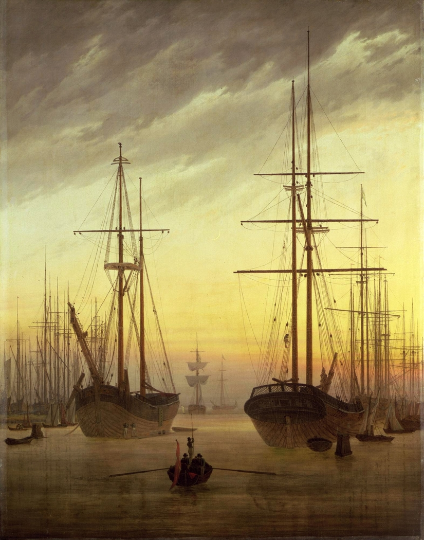 View of a harbour
