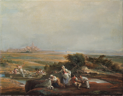 View of Fuenterrabía (fragment)