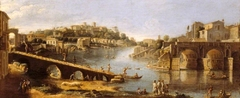View of the Ponte Rotto, Rome