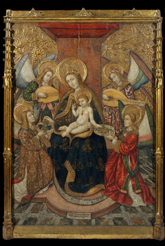 Virgin and Angels