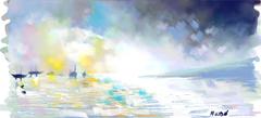 White Light on Lake Lure