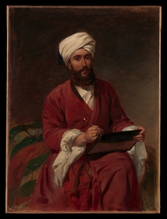 William Edward Dighton (1822–1853) in Middle Eastern Dress